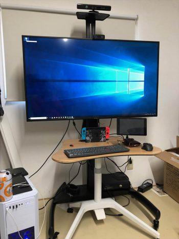PIX-50MX100とEEX-TVS012を設置 横画面
