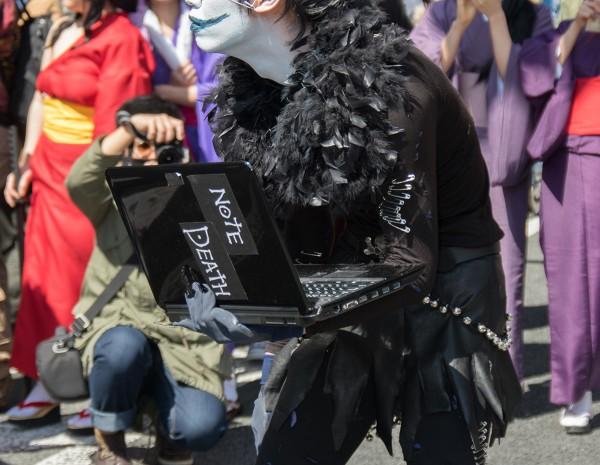 デスノートパソコン