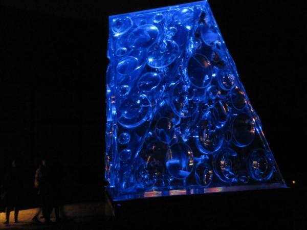 ・リフレクトリウム(わかりづらいですが、水槽の中に魚はいます)