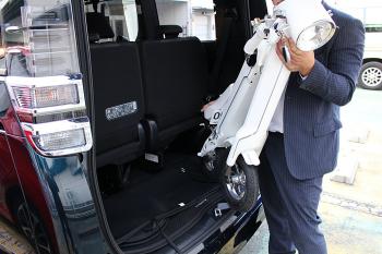 BLAZE SMART EV 車でもカンタン持ち運び