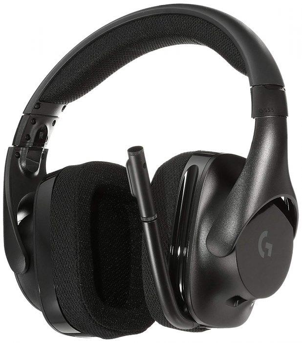 ゲーミングヘッドセット PC PS4 ロジクール G533 ワイヤレス DTS® 7.1 サラウンド