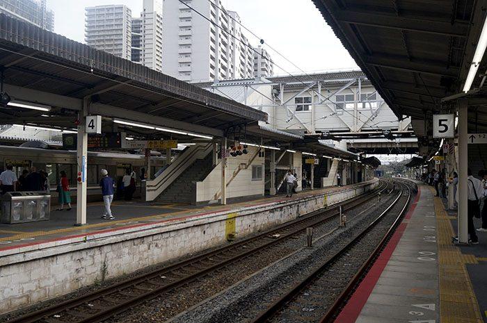 草津駅 ホーム