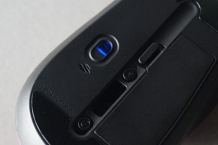 マイクロソフト スカルプト モバイル マウス 底面