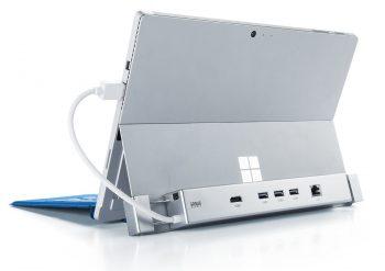 サンワダイレクト Surface用 ドッキングステーション Surface3/Pro3/Pro4/Pro 2017専用 HDMI USB3.0×3ポート 有線LAN 400-HUB039S