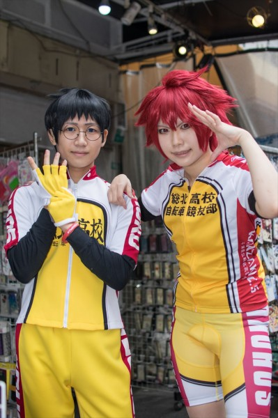 日本橋ストリートフェスタ2015 写真 弱虫ペダル 小野田 坂道 鳴子章吉