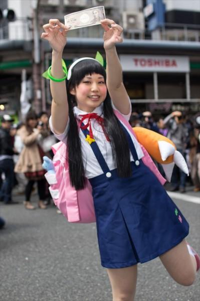 日本橋ストリートフェスタ2015 写真 物語シリーズ 八九寺真宵