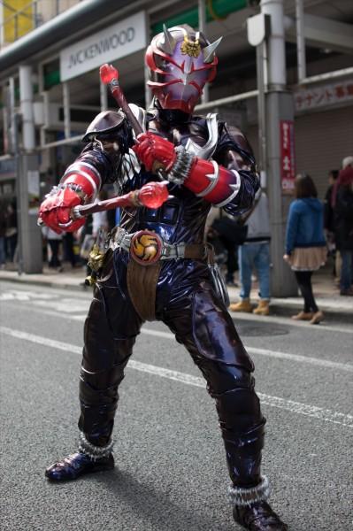 日本橋ストリートフェスタ2015 写真 仮面ライダー響鬼