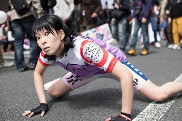 日本橋ストリートフェスタ2015 写真 弱虫ペダル 御堂筋翔