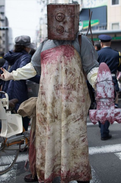 日本橋ストリートフェスタ2015 写真 サイコブレイク キーパー