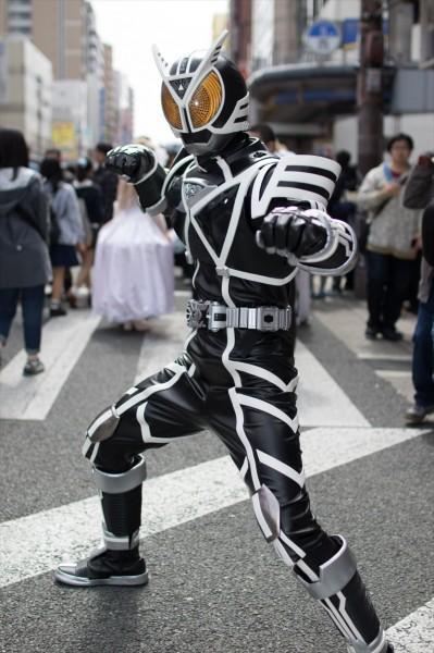 日本橋ストリートフェスタ2015 写真 仮面ライダーデルタ