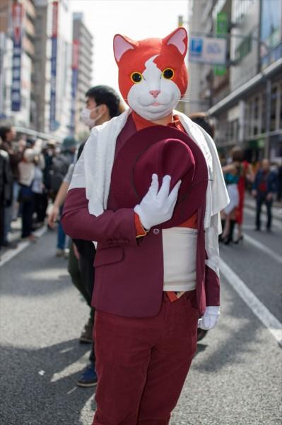 日本橋ストリートフェスタ2015 写真 ジバニャン?バロン?