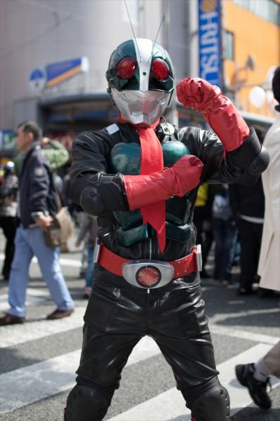 日本橋ストリートフェスタ2015 写真 仮面ライダー1号
