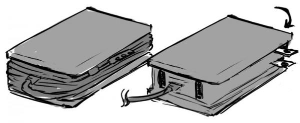 Surface Pro 2 ACアダプタの理想