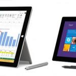 Surface Pro 3とSurface Pro2を比較してみた