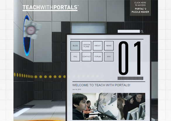 TEACH WITH PORTALS